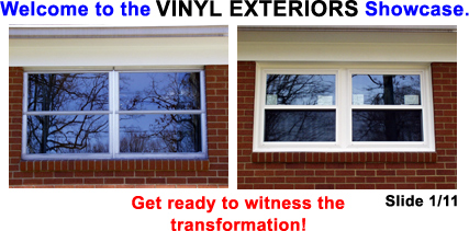 Vinyl Exteriors Showcase of Workmanship